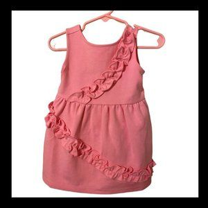 NWT 12-18m Pink Janie and Jack Dress with Bloomers